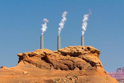 Navajo Power Plant near Page, Arizona