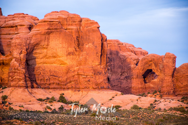 1291  G Double Arch Evening
