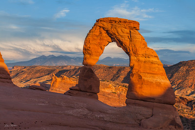Delicate Arch Sunset - July 2017
