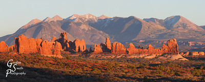 Arches Window Panorama