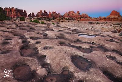 Potholes in Sandstone
