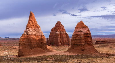 Cathedral Valley Spires