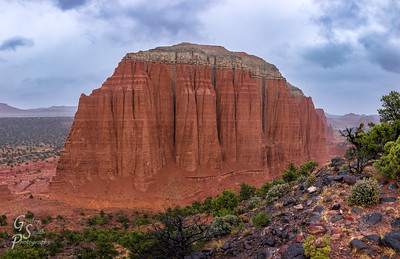 Giant Monolith of Upper Cathedral Valley