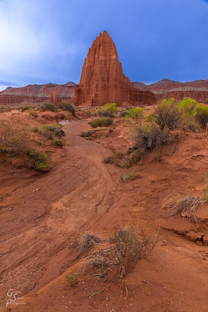 Temple of the Sun and Sandy Wash