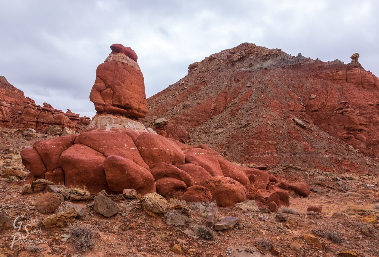 Little Egypt naming rock formations