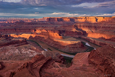 Sunrise at Dead Horse Point State Park.  May 10, 2019.