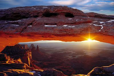 Mesa Arch Winter Sunrise 2