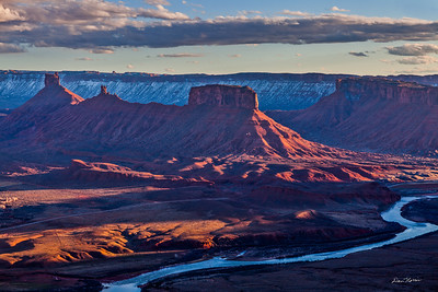 View from OMG Point.  Northeast of Moab, Utah.