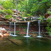 Zion Double Falls in Spring