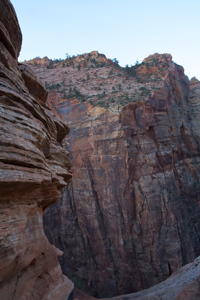 Zion Sandstone Walls