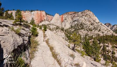 West Rim Trail Ascending