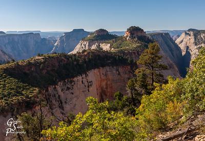 West Rim Trail Spectacular Landscape
