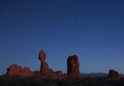 Balanced Rock & Jupiter