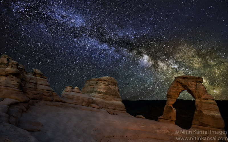 Milky Way At Delicate Arch
