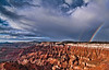 Beauty After A Storm<br /> <br /> Following a quick yet tumultuous hail storm, a pair of rainbows hang over the valley of hoodoos<br /> Cedar Breaks National Monument, Utah, USA