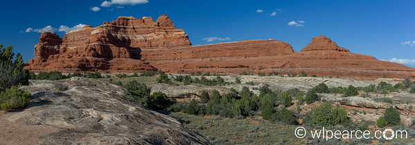 Canyonlands Needles District.  14 frame composite HDR.