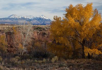 La Sal  Mountains, Utah.