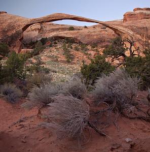 Landscape Arch, Arches NP, Utah.