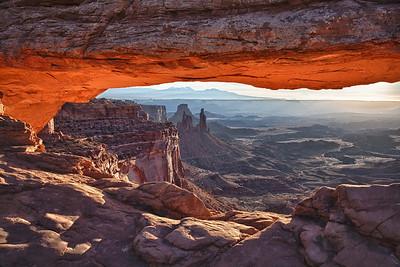 Mesa Arch, Canyonland NP, Utah.