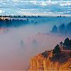 Smoke Settles in Bryce Canyon.