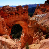 First snow at Natural Arch at Bryce Canyon - Oct 10th 2007<br /> The temperature had dropped from 60 F the previous day down to a numbing 18 F within12 hours