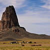 A part of Arizona Navajo country similar to New Mexico's Shiprock area.