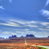 Monument Valley, Arizona.  I really wanted to come through here.  I have seen lots of westerns that were filmed here.  John Ford the great movie producer/director loved Monument Valley.  His first movie here was Stagecoach (1939) with John Wayne and Claire Trevor.