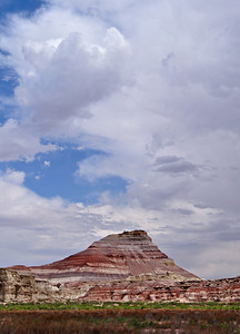 Rainbow Butte near Hanksville