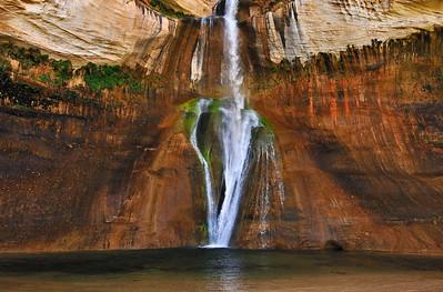 Calf Creek Falls Panorama