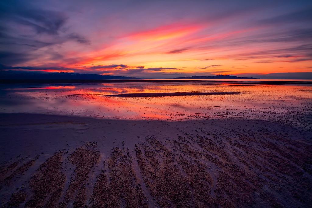 Great Salt Lake Sunset