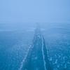 Frozen Farmington Bay