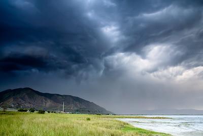 Storm @ Great Salt Lake, Utah