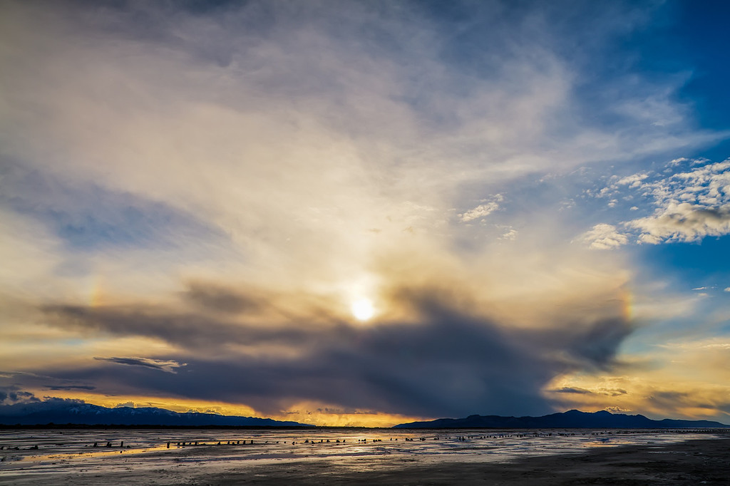 Two Sun Dog storm