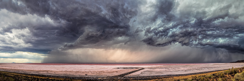 Spiral Jetty Labor Day Storm