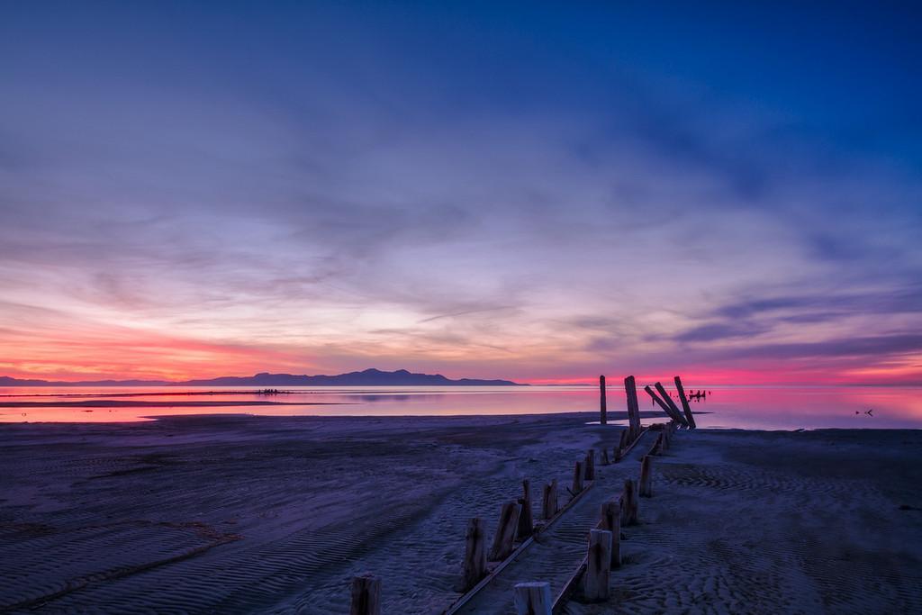 Dreaming of pink horizons
