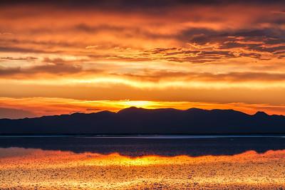 Great Salt Lake, Sunset