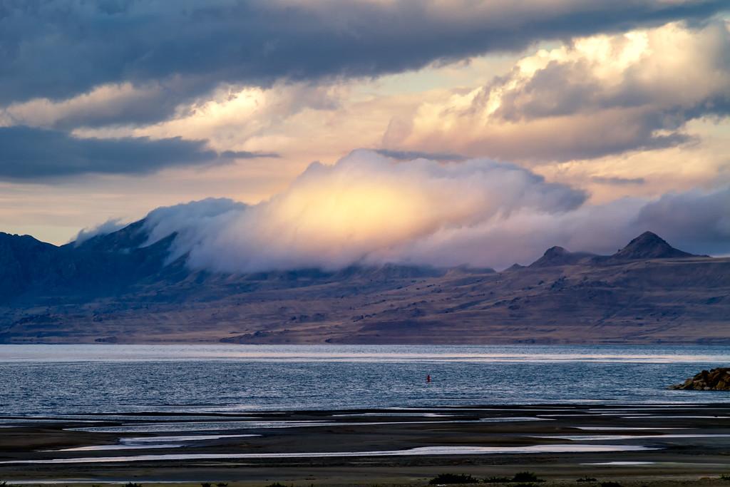 Antelope Island Cloud cover
