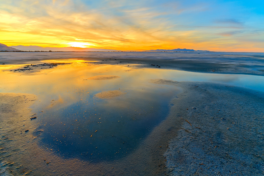 Great Salt Lake mud flats