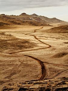 final leg; road to lakeside @ Lakeside, Utah