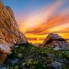 Stansbury Island sunset