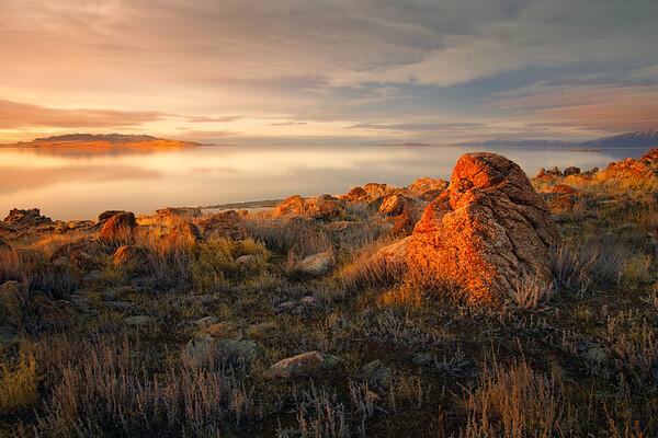 Cool rocks on Antelope island