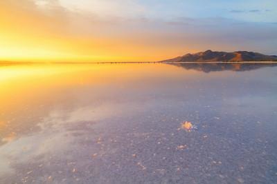 Salt and Stansbury island