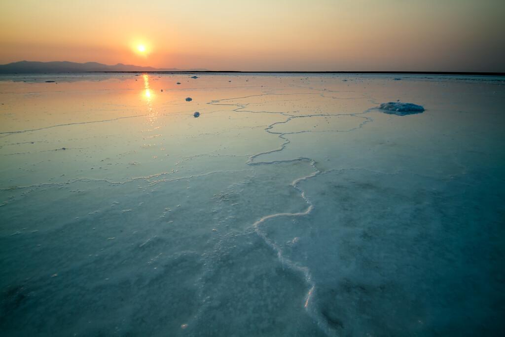 Green Salt, Great Salt Lake, Utah