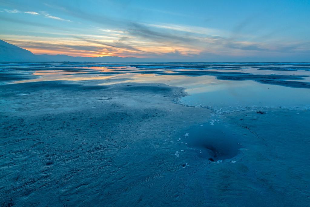 SaltAir Beach Sunset  1.27.14