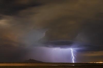 Utah Thunder Storm