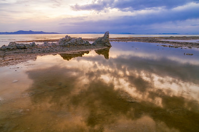 Tufa at Great Salt Lake