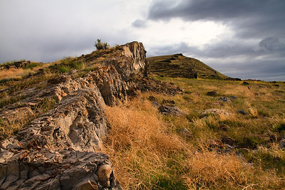 Ridgeline of the gillespies range