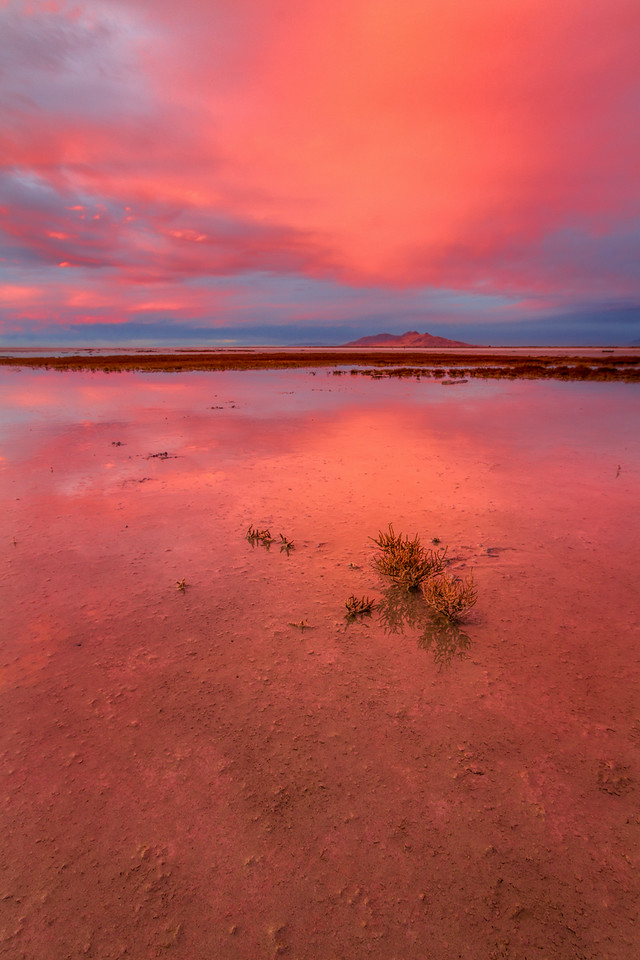 Great Salt Lake, Sunset