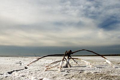 alien attack @ Great Salt Lake, Utah