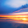Just a sunset at the Great Salt Lake!